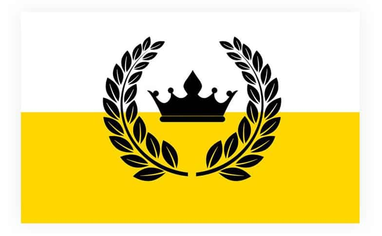 The Kingdom of Enclava flag
